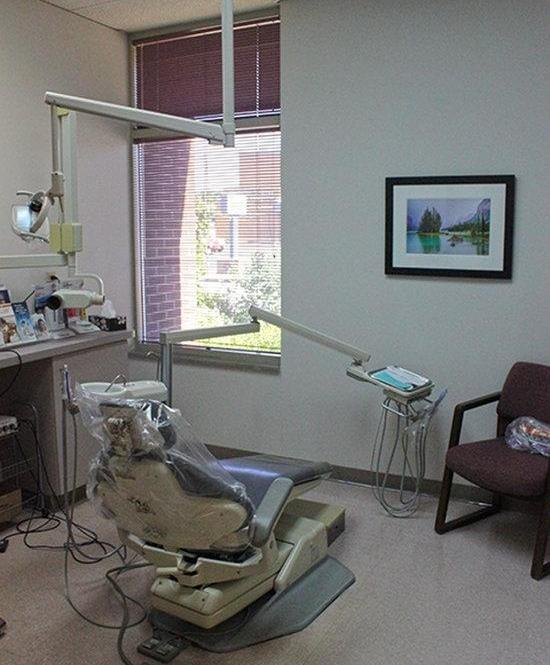 One of our operatories at Webster Groves Dental